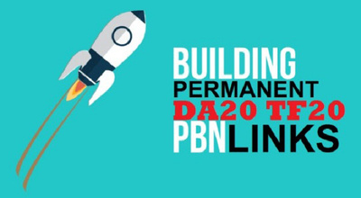 Make 2 permanent Pbn backlinks for your website/bussiness