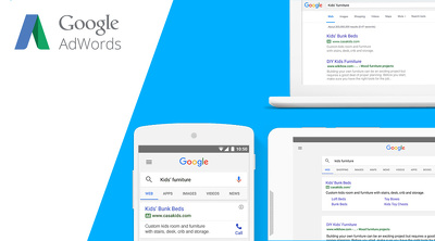 Set up AdWords campaign with £75 voucher