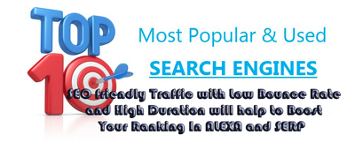 Get you HQ PR SEO TRAFFIC for Boost Alexa and SERP Ranking