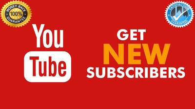 Get 250 Genuine YouTube Subscriber or 500 Like For Your  YouTube Video Promotion