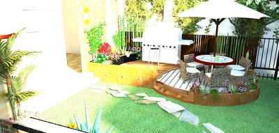 Design your landscape, gardens, patio or outdoor 3D visualisations