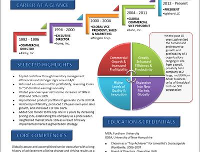 Design a Killer CV resume in Infographic Style