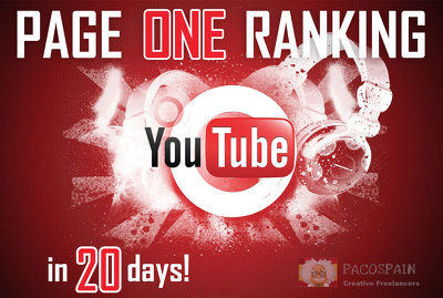 Rank your YouTube video on Google Page 1 (ONE) in very short time