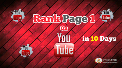 Rank Your Video On Page 1 of YouTube in very short time