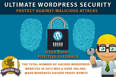 Ultimate Wordpress SECURITY Setup -MUST-HAVE Stop Hackers, BOTS,  Malicious attacks