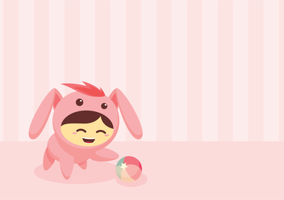 Create a cute and adorable character illustration