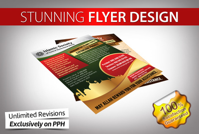 Design stunning flyer