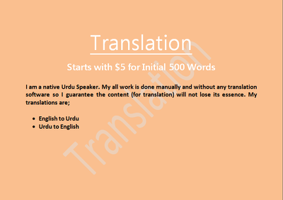 Translate 2500 words from English to Urdu within 24 hours