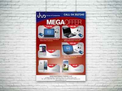 Design you a flyer, poster or leaflet
