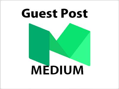 I will publish a guest post on Medium