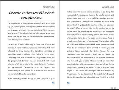Make an excellent formatting of your book to be ready for Createspace/Kindle