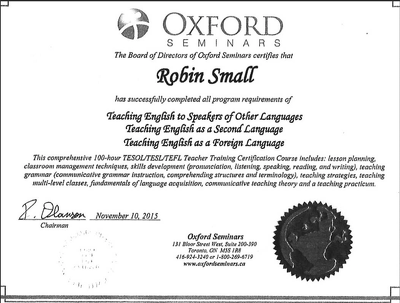 """""""Teach You English"""" in a relaxed and efficient manner and deliver 1 hour in 1 day."""