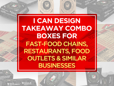 Design takeaway combo boxes