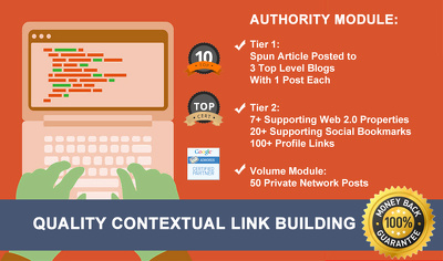 Get Quality Contextual Link Building to Boost Your Sites Ranking In The Search Engine