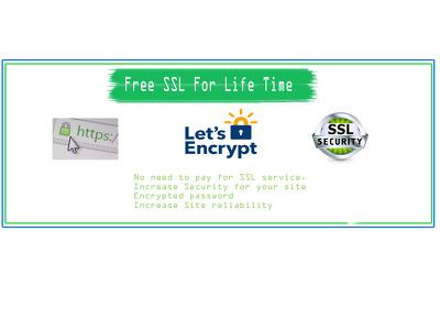 Setup Free SSL (Life Time Free )