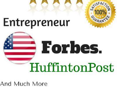 Guest Post on Forbes INC Entrepreneur mashable