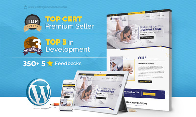 Create fully responsive Wordpress website with Blog + FREE Premium theme