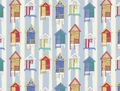 Create a bespoke surface pattern design in repeat