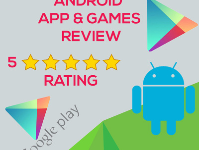 Add 10 Reviews with 5 Star Rating to Your  Android App & Games on Google Play Store