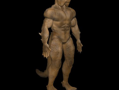 3d character modeling and cartoon character modeling