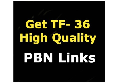 Create 50 Permanent PBN Posts on High Trust flow domains