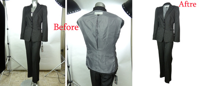 Making 20 Cloth images editing and Ghost mannequin remove