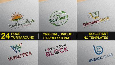 Unique, modern, minimal, vintage, classic, cool eye catching logo design.