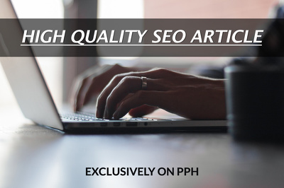 Write a Well Researched High quality 500 words Article/Blog Post