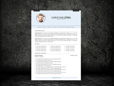 Put your CV / Resume into an ATS-friendly modern template to WOW recruiters!