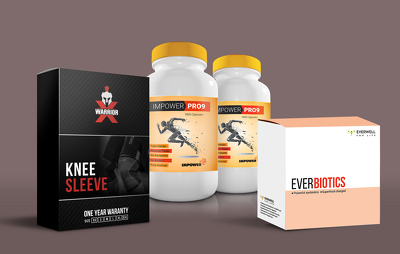 Design amazon and print ready product Packaging, Label, Box