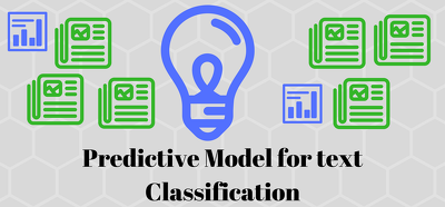 Build a Predictive Model for Text Classification
