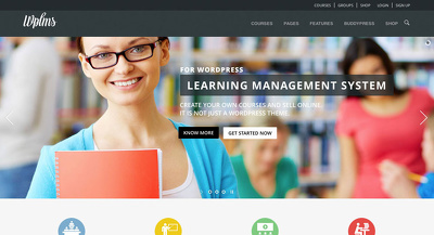 Develop WPLMS WordPress Learning Management website