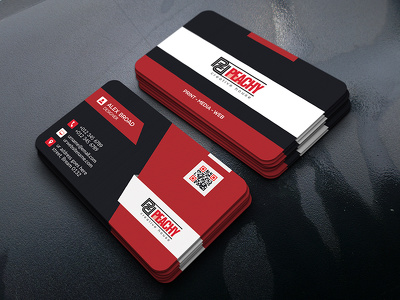 Professional and Memorable Business Card Design