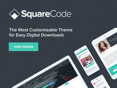 Setup ECommerce Marketplace using SquareCode Theme for Digital & Physical Products