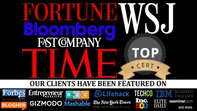 Guest post on Forbes Fortune, Fast Company, Inc, Wall Street Journal, TIME, Bloomberg