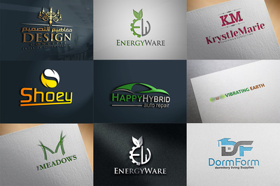 Bespoke logo design+3 initial concepts +unlimited revisions+Source Files