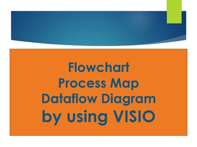 Create 1 page Flowchart, Process Map or Diagram using MICROSOFT VISIO