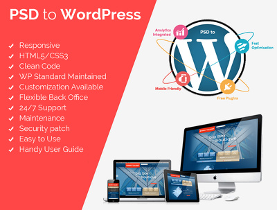 Develop a Responsive Wordpress Theme from PSD
