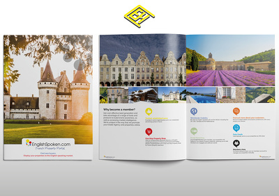 Design, Print & Deliver 100 professional 12 page brochures (more options available)