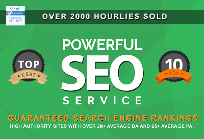 Advanced SEO Link Building: Get to rank #1 on Google Today with real results!