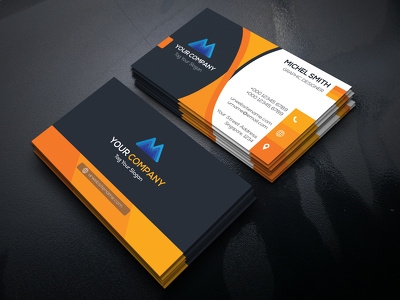 Design Professional Double Sided Business Card with Unlimited Revision