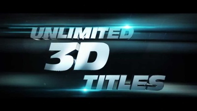 Add professional 3D title VFX to your short film or video