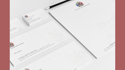 Design your business card, letterhead and comp slip