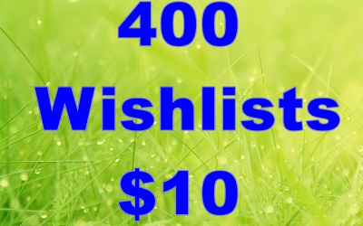 Do 400 parmanent Searchable  wishlist to Rank your Product