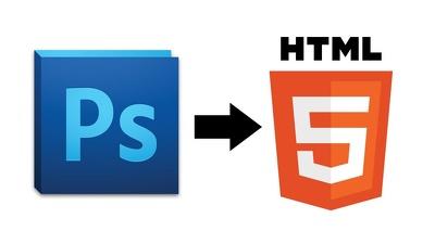 Convert PSD into HTML5