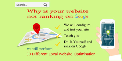 Optimise WordPress Website for Google Local SEO, On-page SEO. Rank on Google Local
