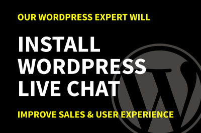 Install WordPress Live Chat To Improve Sales & User Experience