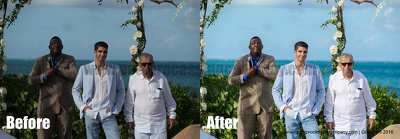 Edit, Cull and Color Correct Wedding Photos