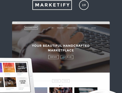 Setup ECommerce Marketplace using Marketify theme and Easy Digital Downloads Bundle