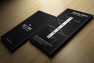 Design premium quality business card